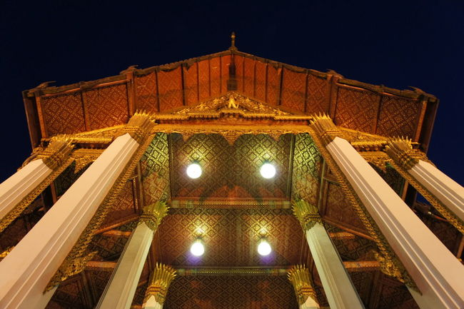 วัดสุทัศน์เทพวราราม Arch Architectural Feature Architecture Bangkok Buddhist Buddhist Temple Built Structure Ceiling Church Column Design Historic History Indoors  Ornate Place Of Worship Religion Spirituality Symmetry
