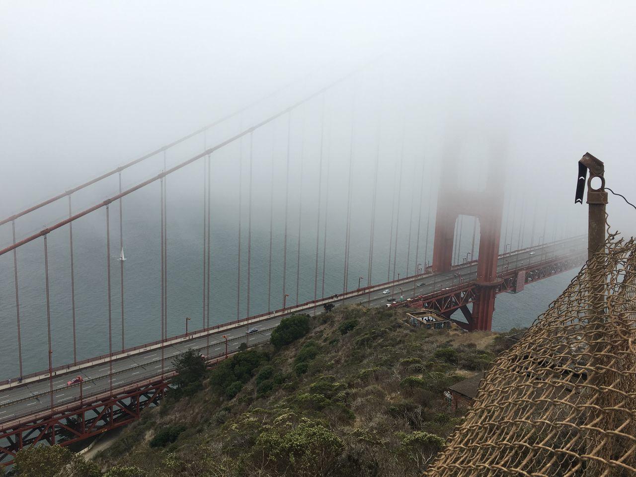The Golden Gate Bridge Golden Gate Bridge San Francisco Bay Area California Fog Summer Battery Spencer