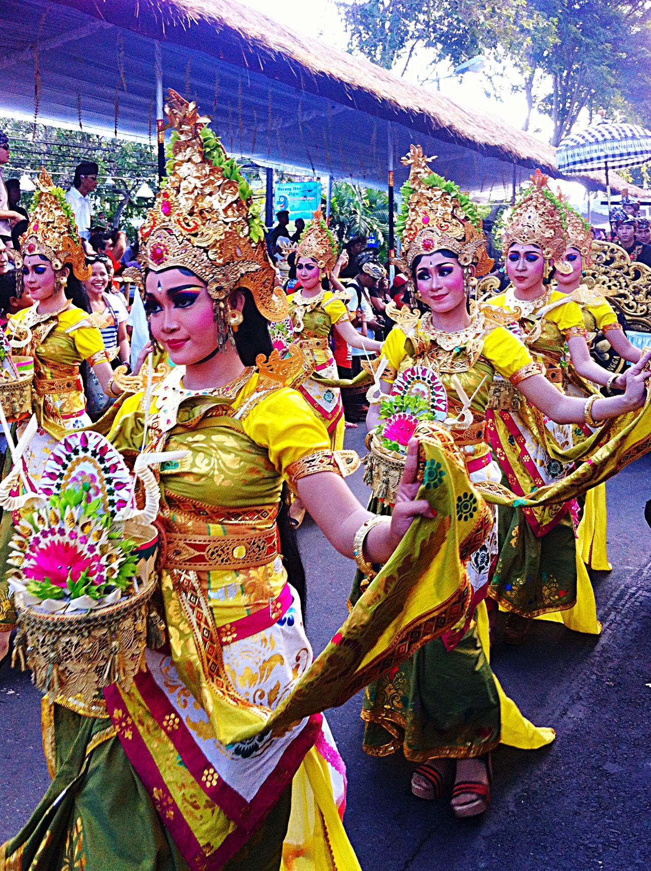 Dance Balinesedance Parade Baliartfestival Angles Carnival