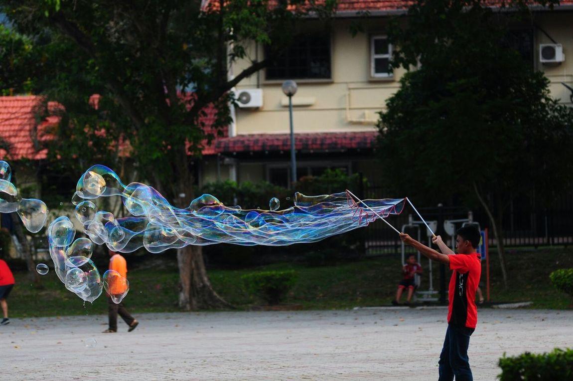 EyeEmNewHere Activity Outdoors Balloons Waterballoons Mid-air