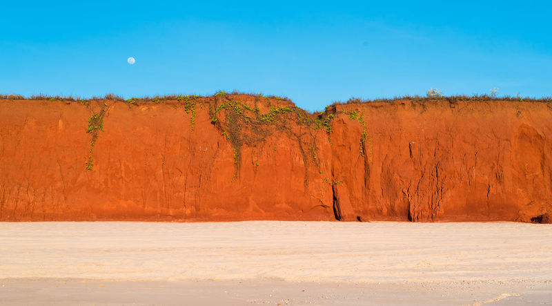 Red cliffs at James Price Point, Western Australia Australia Australian Landscape Cliffs Coastline Coastline Landscape James Price Point Prices Point Red Western Australia Backgrounds Blue Sky Broome Eroded Landscape Outdoors Red Cliffs