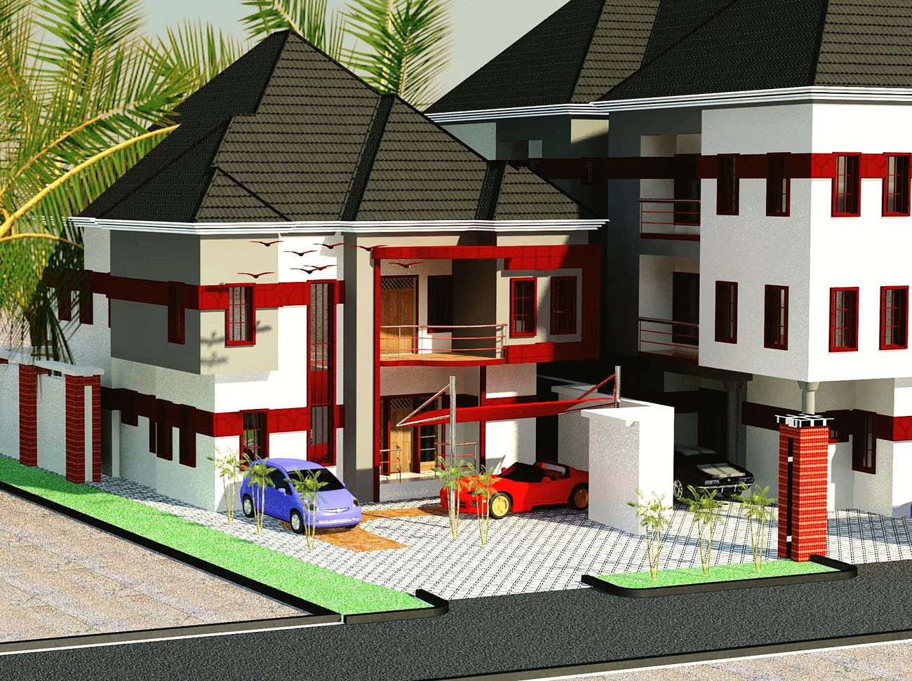 My latest Revit Architecture 2014 design