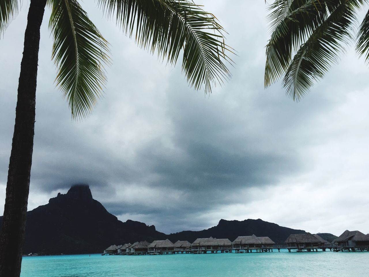 Beautiful stock photos of bora bora, Beauty In Nature, Bora Bora, Cloud - Sky, Cloudy