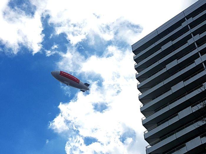 Blimp Blimp In The Sky Zeppelin Ruhrpott Gelsenkirchen Gelsenkirchen ♡ Embrace Urban Life