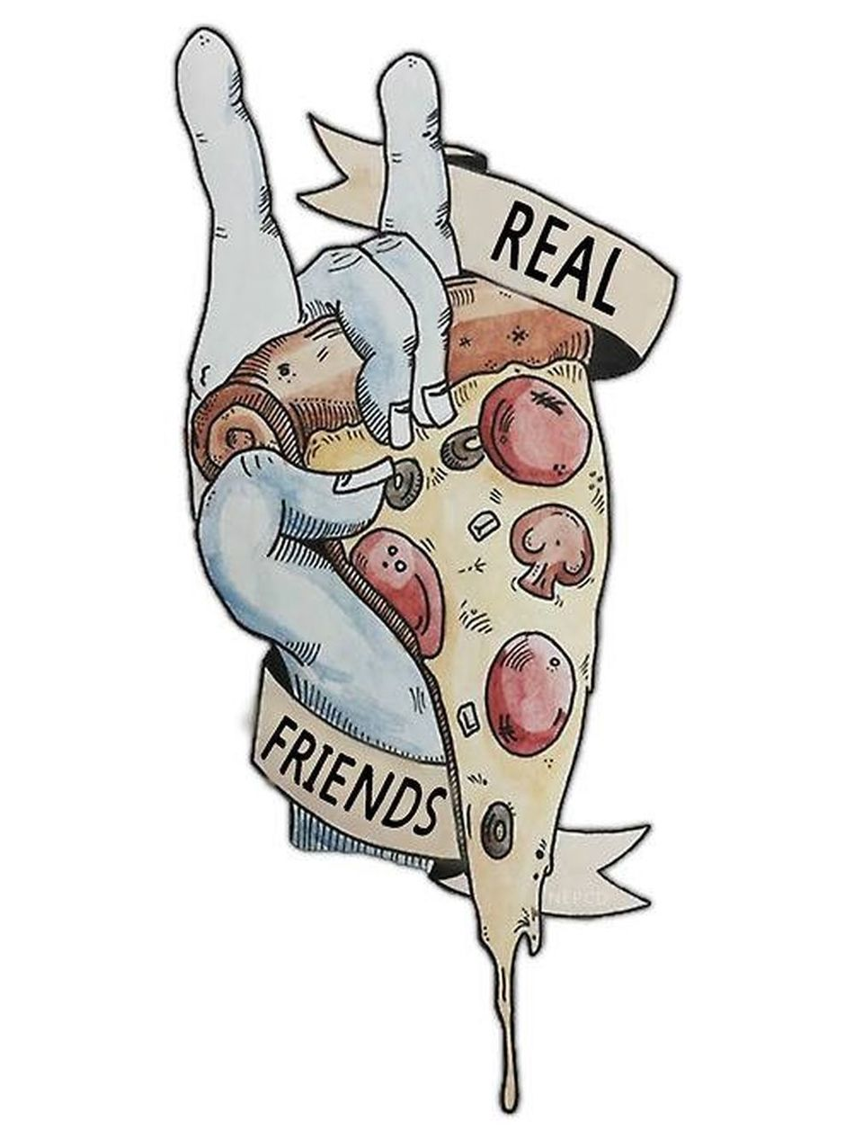 🍕🍕🍕 Realfriends  Eat Pizza Everyday
