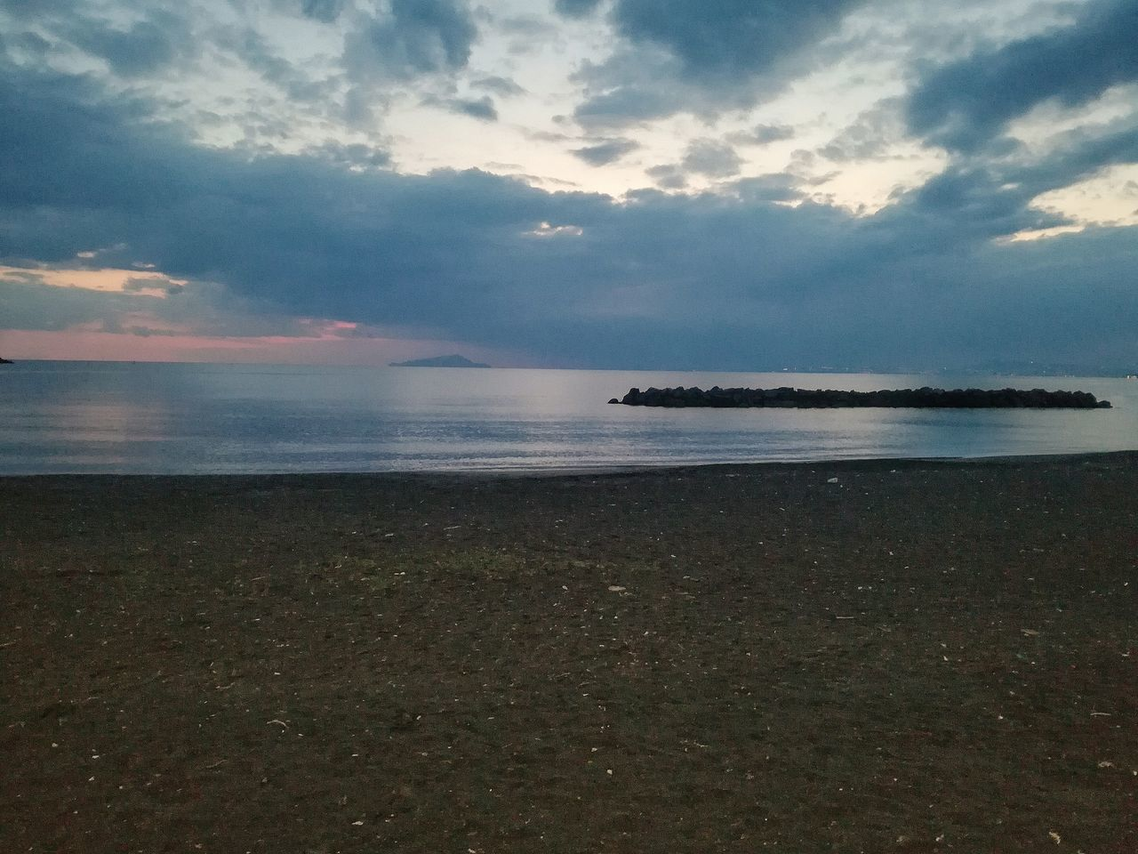 Sea Nature Sky Beauty In Nature Scenics Cloud - Sky No People Water Tranquility Sunset Outdoors Tranquil Scene Beach Horizon Over Water Day Vesuvio Castellammare Di Stabia Napoli Italy🇮🇹 Naples, Italy Naples,