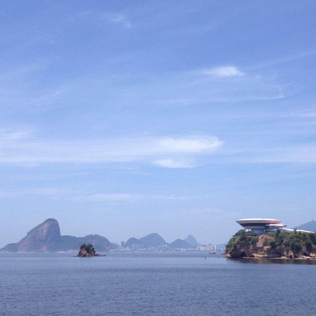 Sky Baía De Guanabara Rio De Janeiro Brazil Postal Naturelovers