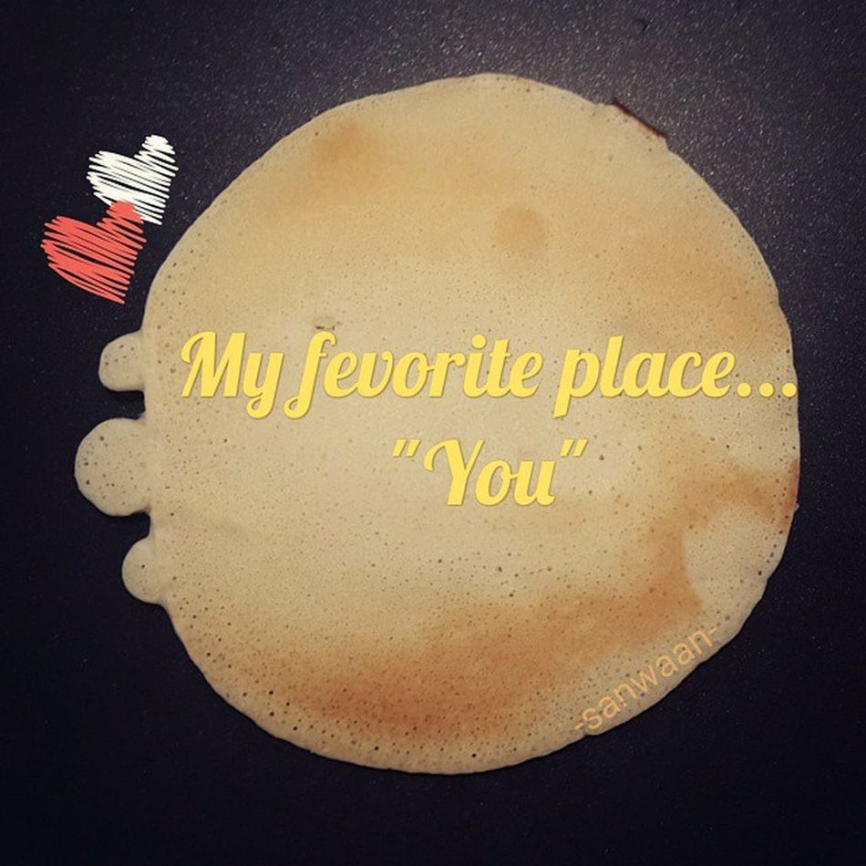 Today ...and always will :) 0123AM CannotSleep Pancake Turtle sanwaan quoteofetheday breakfast cooking bangkok thailand fontstudio