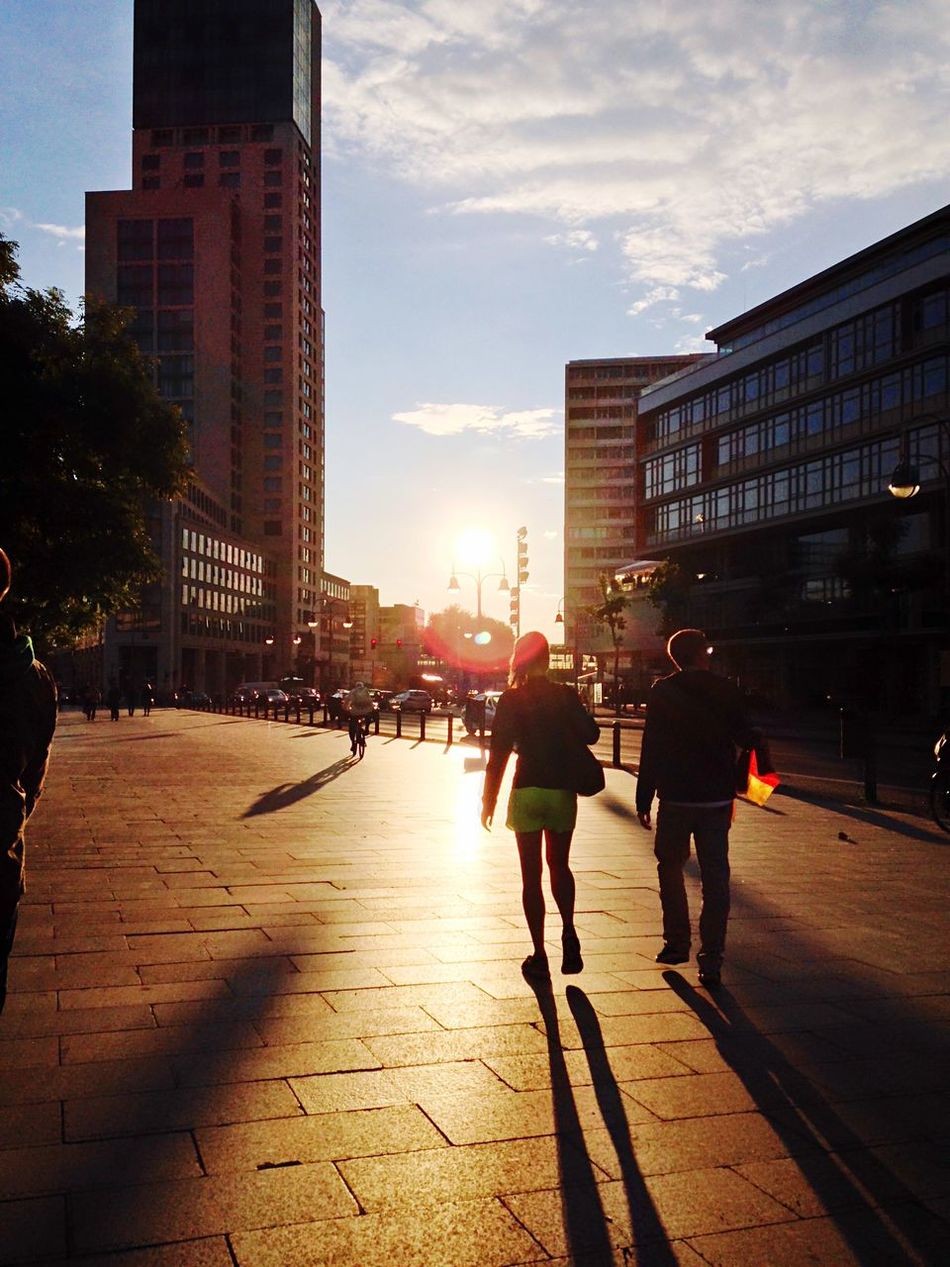 Beautiful stock photos of good morning, , Backlit, Berlin, Building Exterior