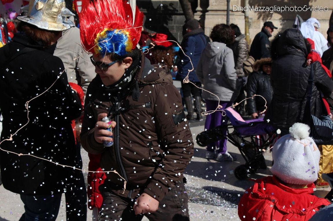 Carnival Acireale People Taking Photos
