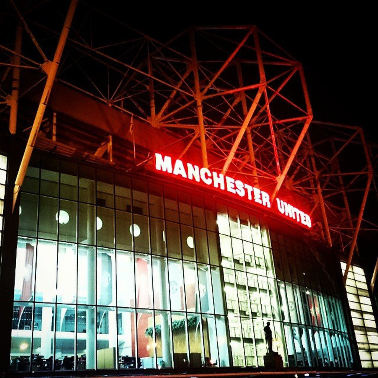 The theatre of dreams... Oldtrafford Manu Manchesterunited ArgentinaVsPortugal Photography by NurPhotography