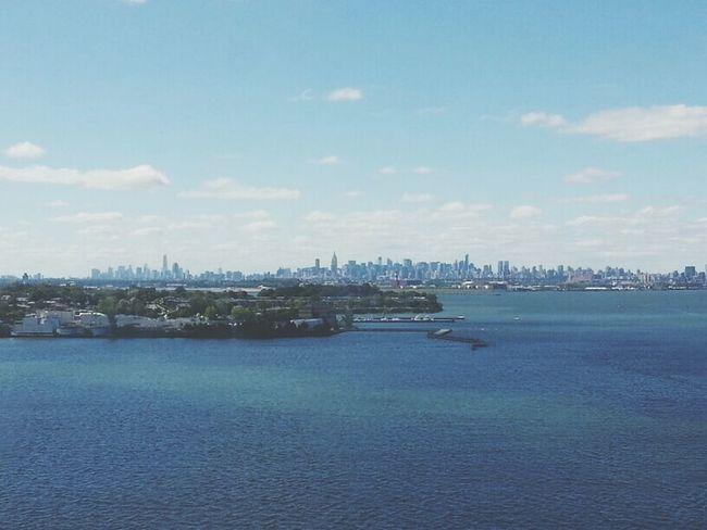 Sea & New York City .