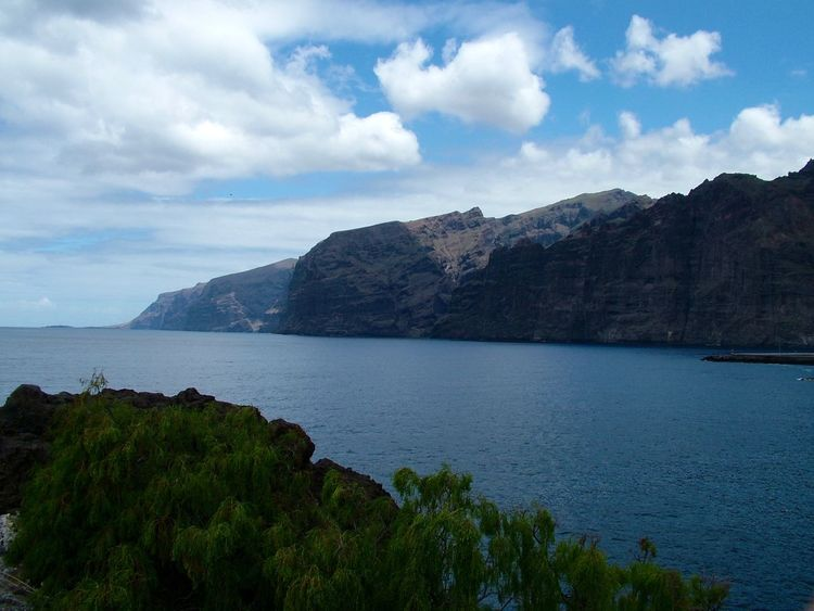 Blue Canary Islands Geology Idyllic Mountain Sea Seascape Sky SPAIN Teide Tenerife Teneriffa Tranquil Scene Vulcano Water