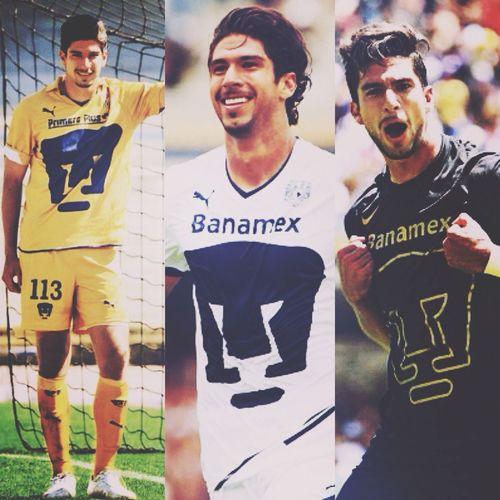 Les presento a mi novio, Eduardo Herrera Núm. 15 en los Pumas, Delantero (Hoy metio el gol que le gano al America) Pumas  PumasoAmerica