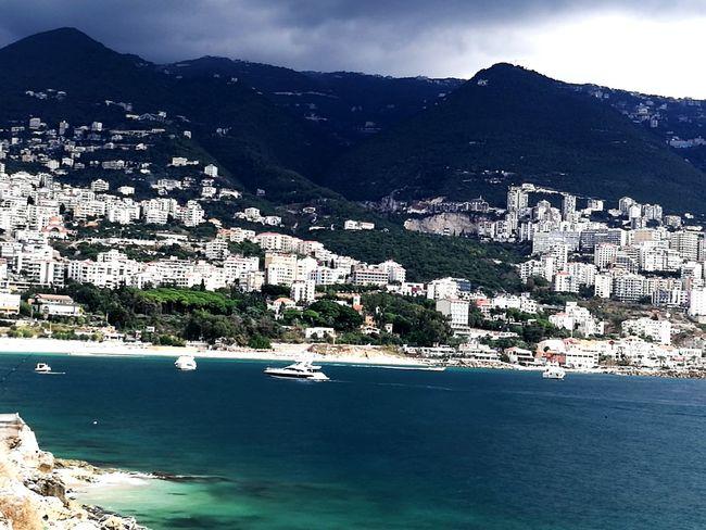 Mountain Cityscape