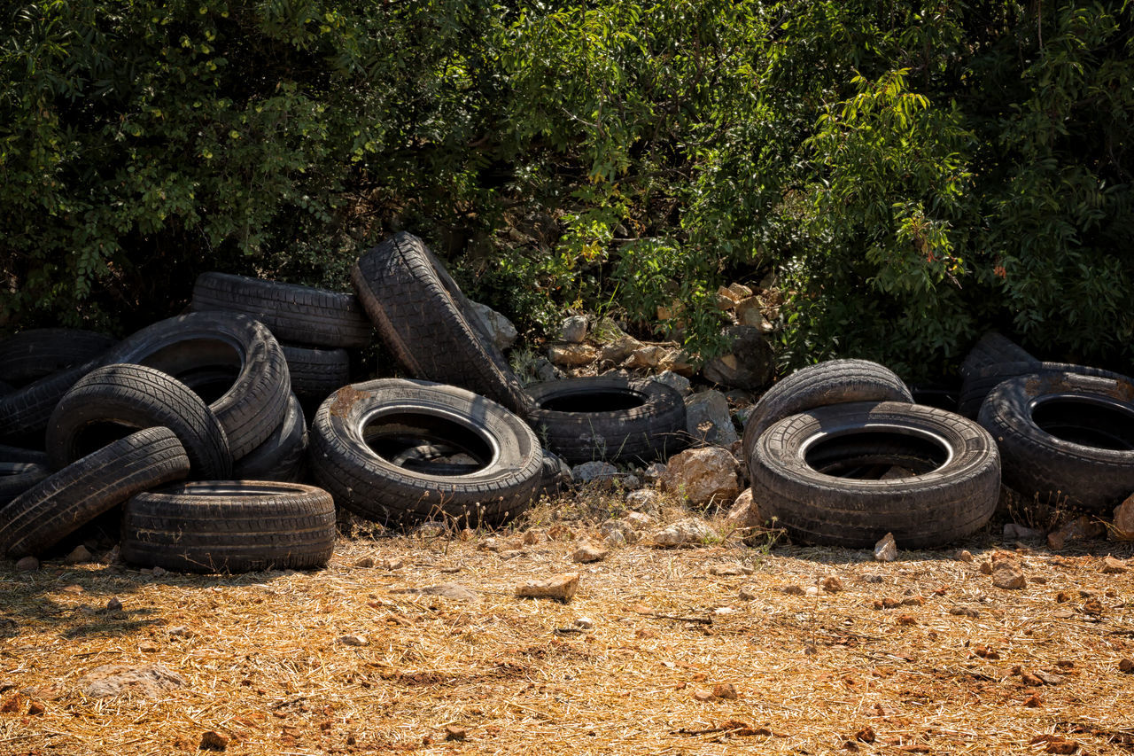 Environment Disaster Circles Circles In Circles Dump Enviornmental Awareness Environmental Issues Garbage Landscape Nature Recycling Round Shape Rubber Stack Tire Tires Turkey Uzuncaburç