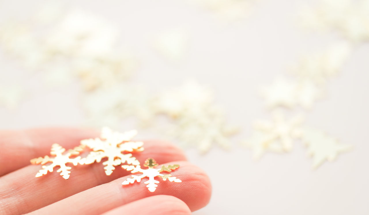 Beautiful stock photos of schneeflocken,  Confetti,  Cropped,  Decoration,  Gold Colored