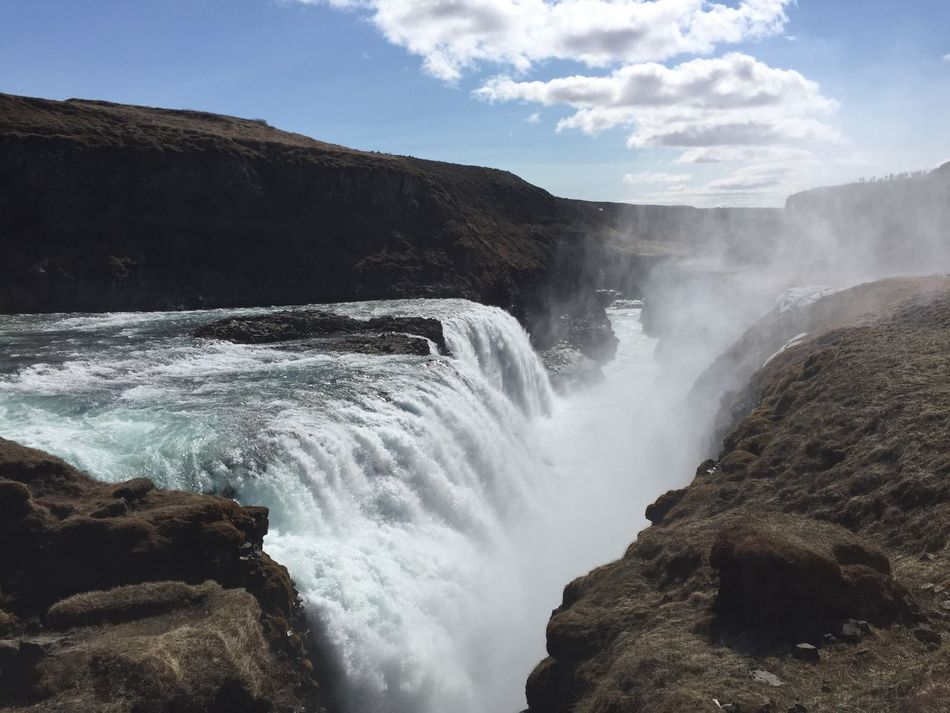 Perspective No Edit/no Filter No Filter, No Edit, Just Photography No Filter The Great Outdoors - 2016 EyeEm Awards EyeEm Nature Lover EyeEm Gallery Travel Destinations Holiday Outdoor Photography Iceland_collection Iceland Eyeemwoman Nature Beauty In Nature Outdoors Nature Photography Landscape Water Waterfalls Waterfall Spindrift