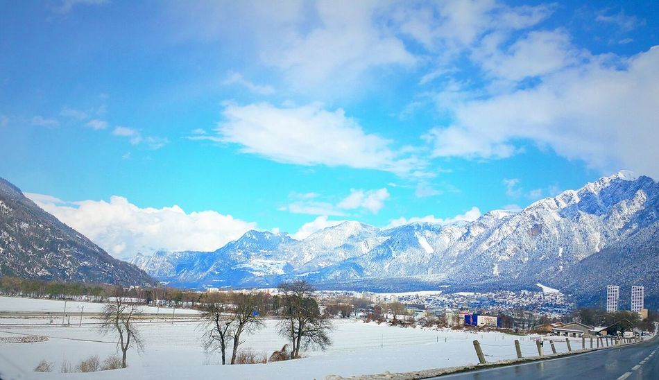 Switzerland Graubünden Chur Theoldestcityofswitzerland Mountains Mountains And Valleys Cityscapes Landscapes Snow Sunshine Sun Bluesky Clouds And Sky White Clouds Hanging Out Taking Photos Nature Photo In Car Walking Around Anothershooting Relaxing Enjoying Life