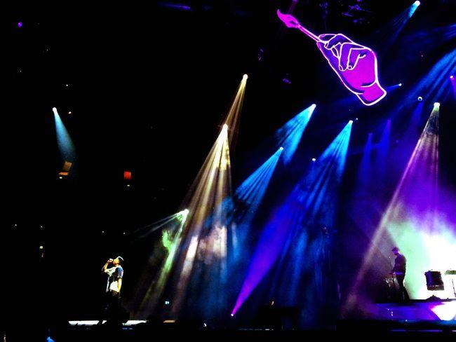 Music Brings Us Together ... Macklemore & Ryan Lewis show back in April was EPIC 👌🏻💙