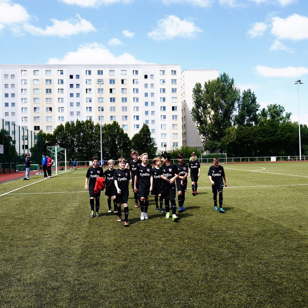 What a brave bunch! Berlin Youth Soccer Team x EyeEm