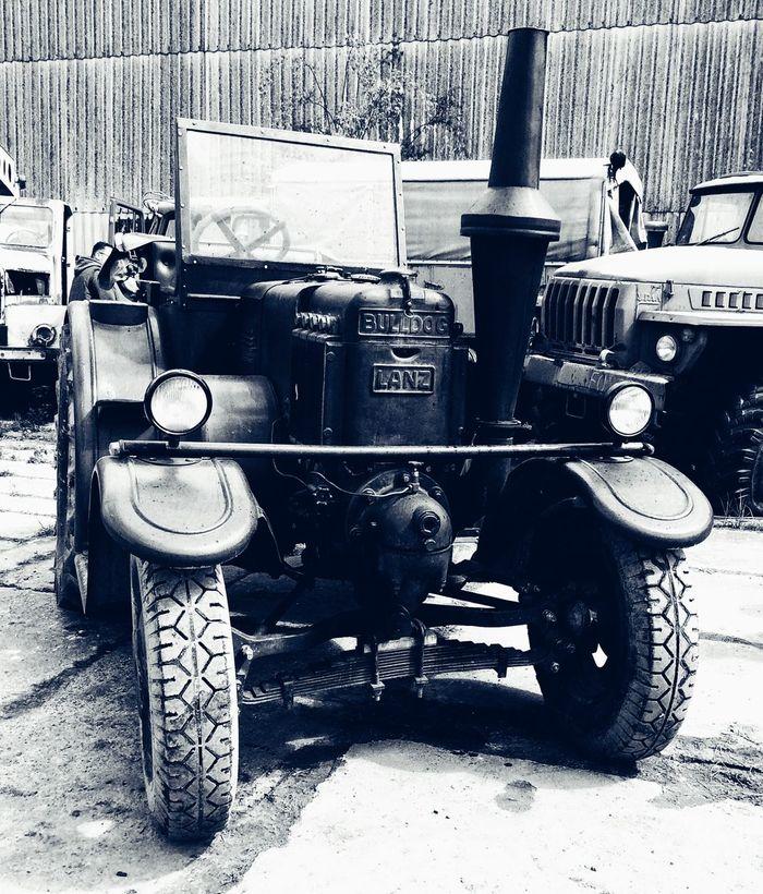 Lanz Bulldog im Technikpark Grimmen B&w Snapseed Classic Car Grimmen