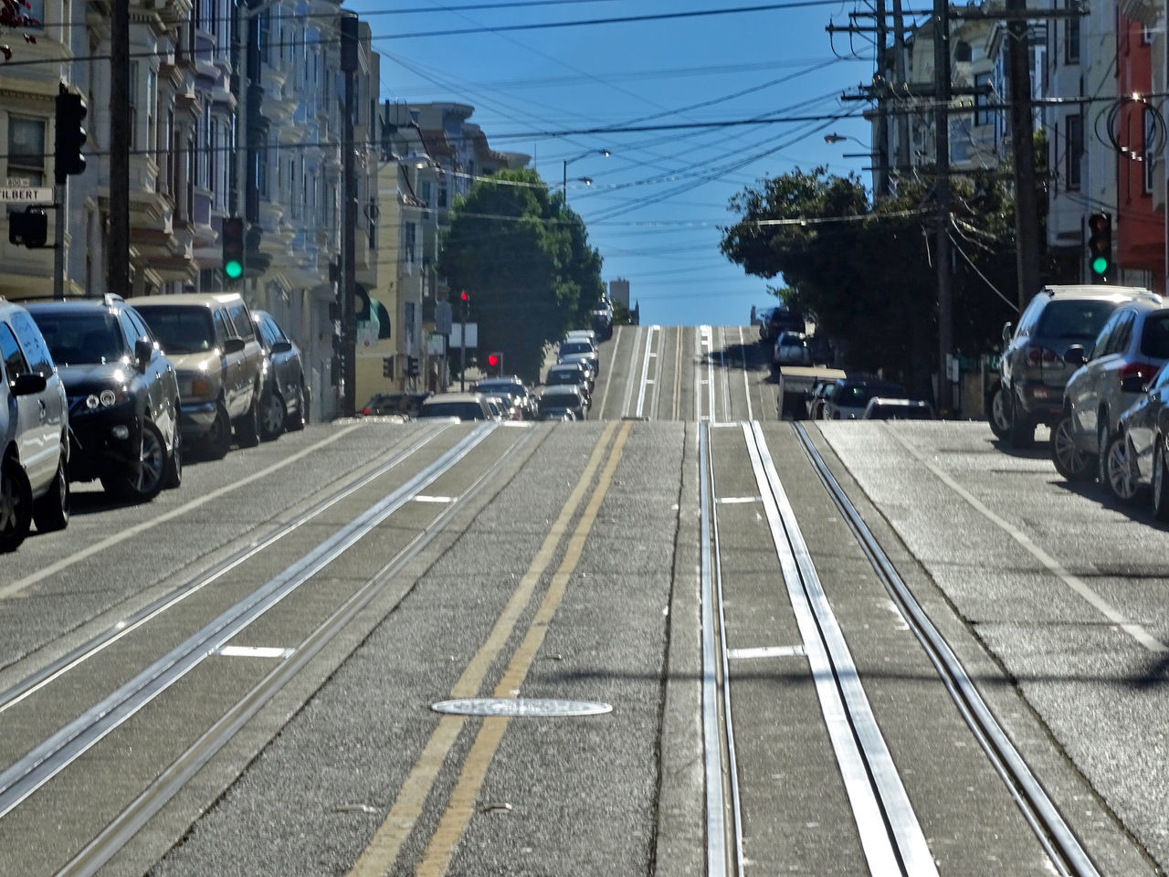 California City No People Outdoors Road San Francisco Sky Street USA USA Photos Travel Destinations Transportation Mode Of Transport Cable Car Beautifully Organized New Talents Mode Of Transportation Finding New Frontiers
