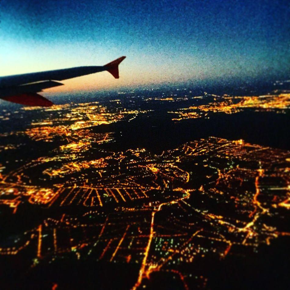 Paris, morning, plane,