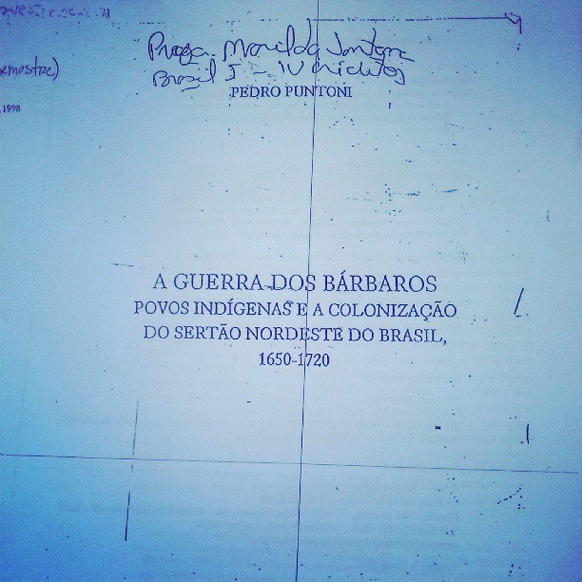 Quem vem curtir comigo esse domingão? HUEHUEHUEHUE Domingo Leitura Apostila Nordeste  colonização brasil brasilI boatarde goodafternoon força coragem UFC