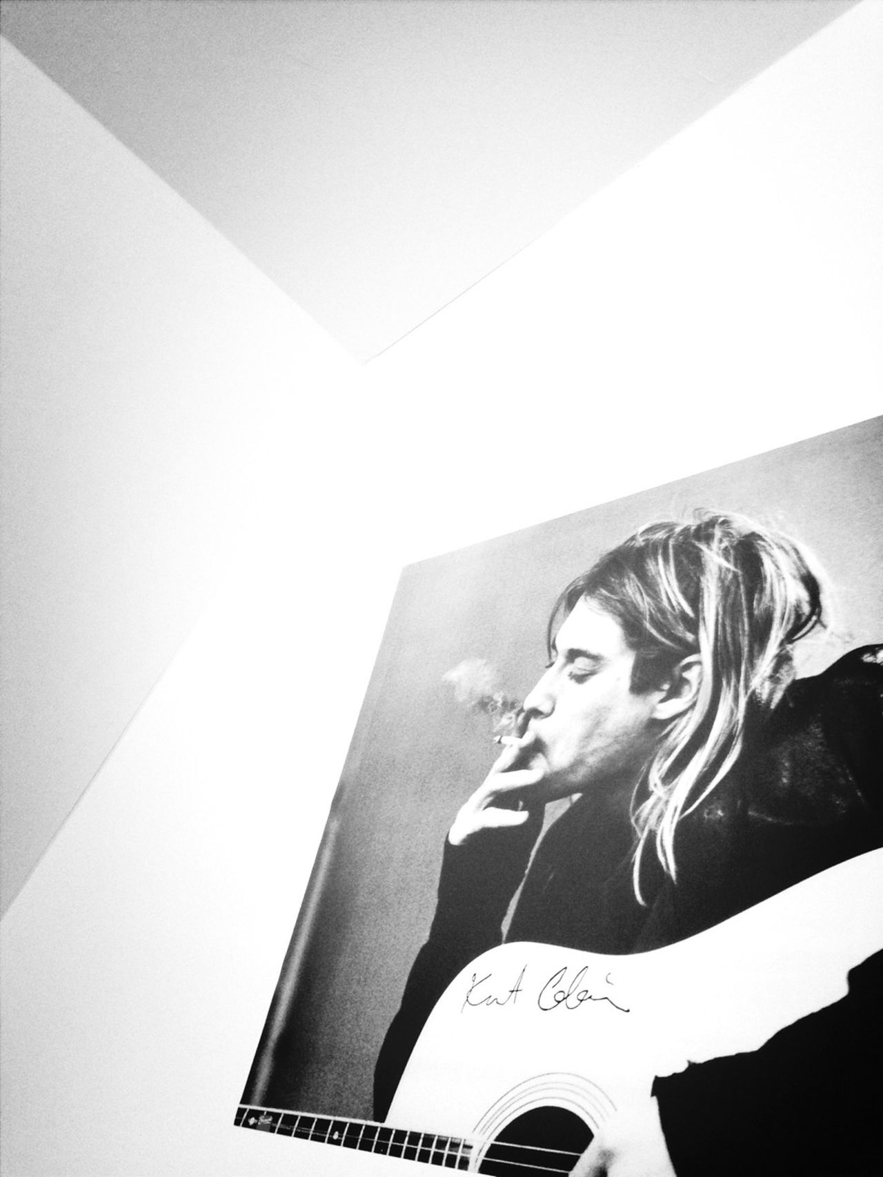 Poster Kurt Cobain First Thing I See Brothers Room
