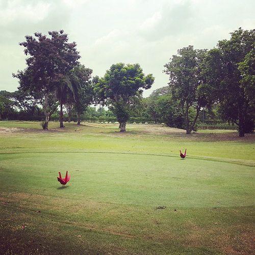 หมุด t off น่ารักๆ ที่สนามเลกาซี่ Golf