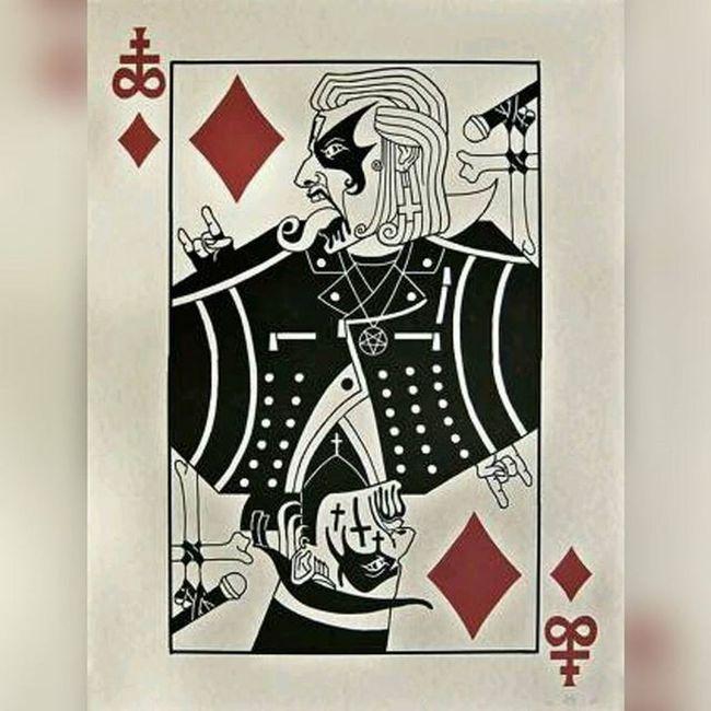 Let´s Play!!! Baralhodecartas Kingdiamond Jogodecartas Mercyfulfate Headbanger heavymetal classicmetal