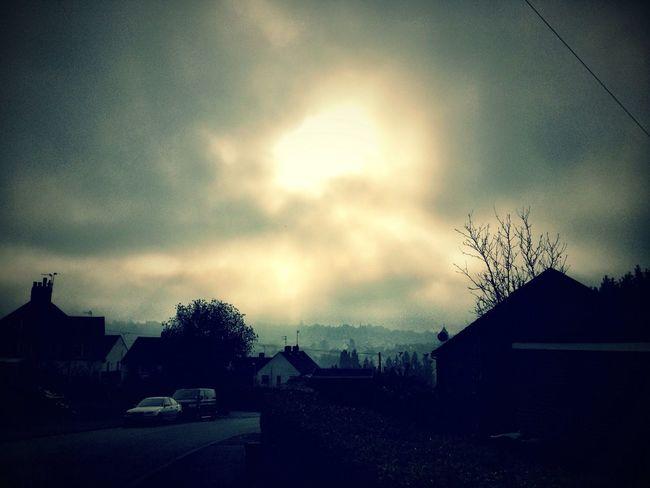 Clouds. Mist. Sun. in Tunbridge Wells Clouds. Mist. Sun.