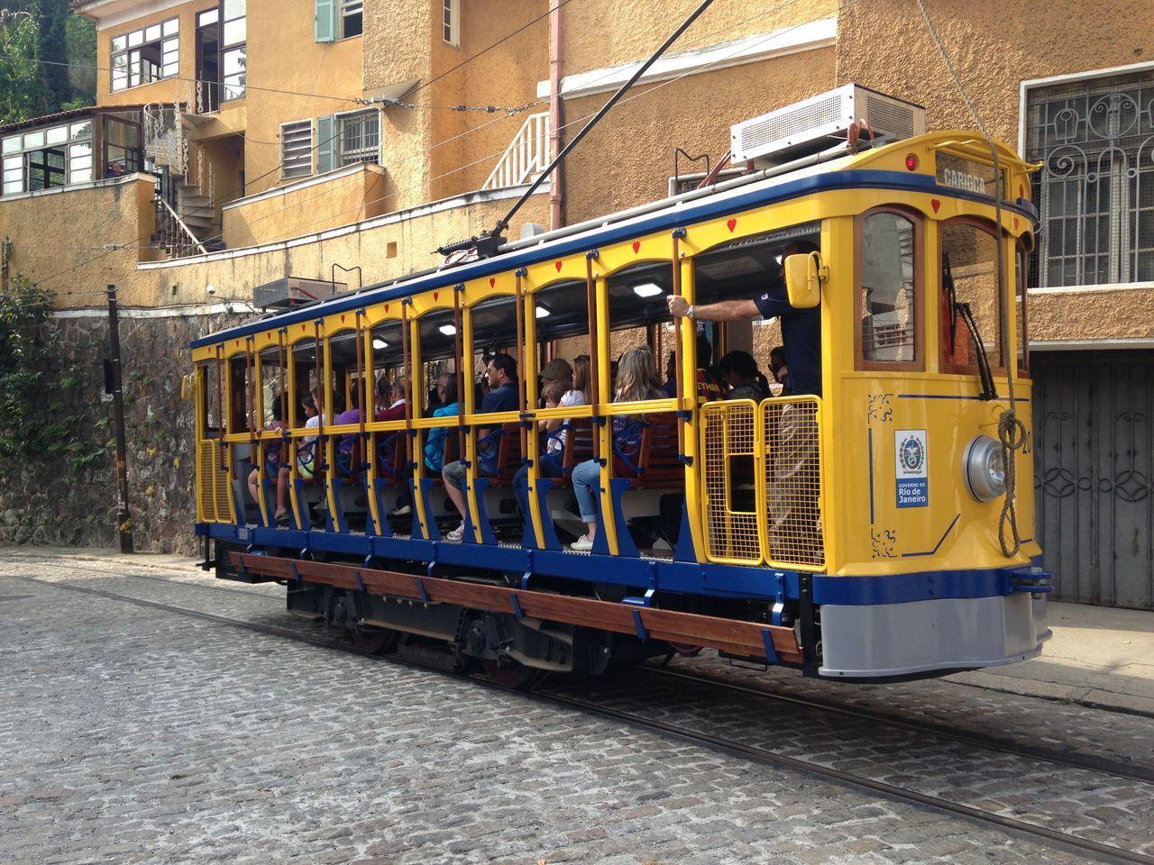 Bonde de Santa Teresa Rio De Janeiro Brazil Public Transportation Transportation Rio EyeEm Rio