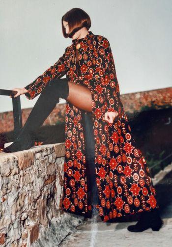 Hasselblad 500, 1990 San Giusto, Trieste . Fashion Vintage Fashion 60' Storyteller Hairfashion Taking Photos Portrait Of A Woman Portrait Check This Out Analog Camera Analog Photography Stamp Showcase: February Remembering