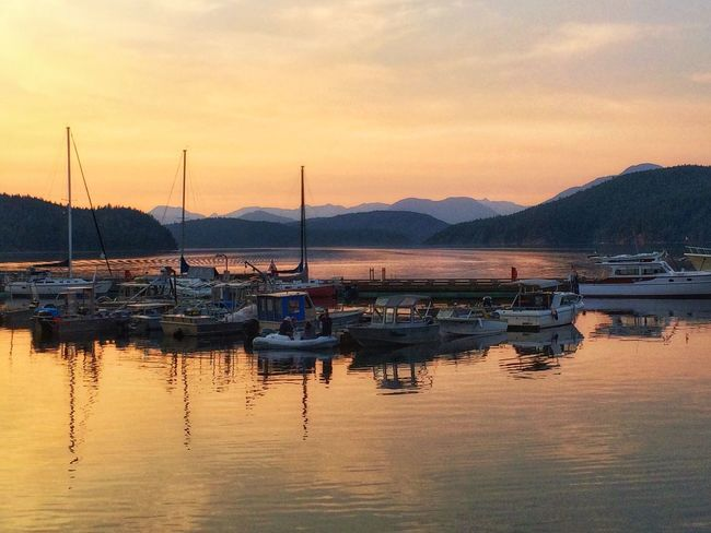 Beautiful British Columbia. Quality Time Enjoying Life Paradise Relaxing