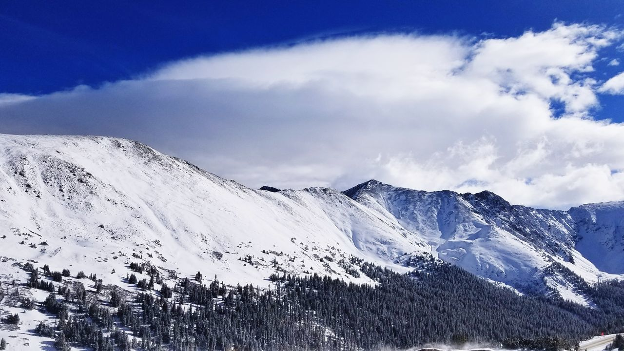 Loveland Pass Snowcapped Mountain Loveland Pass Blue Bird Day EyeEmNewHere Colorado Photography Landscape_photography Driving Big Mountain America Murica EyeEm Selects Mountain Snow Snowcapped Mountain Mountain Range Nature Winter Beauty In Nature Day Scenics Cloud - Sky No People Cold Temperature Landscape Outdoors Sky EyeEm Ready