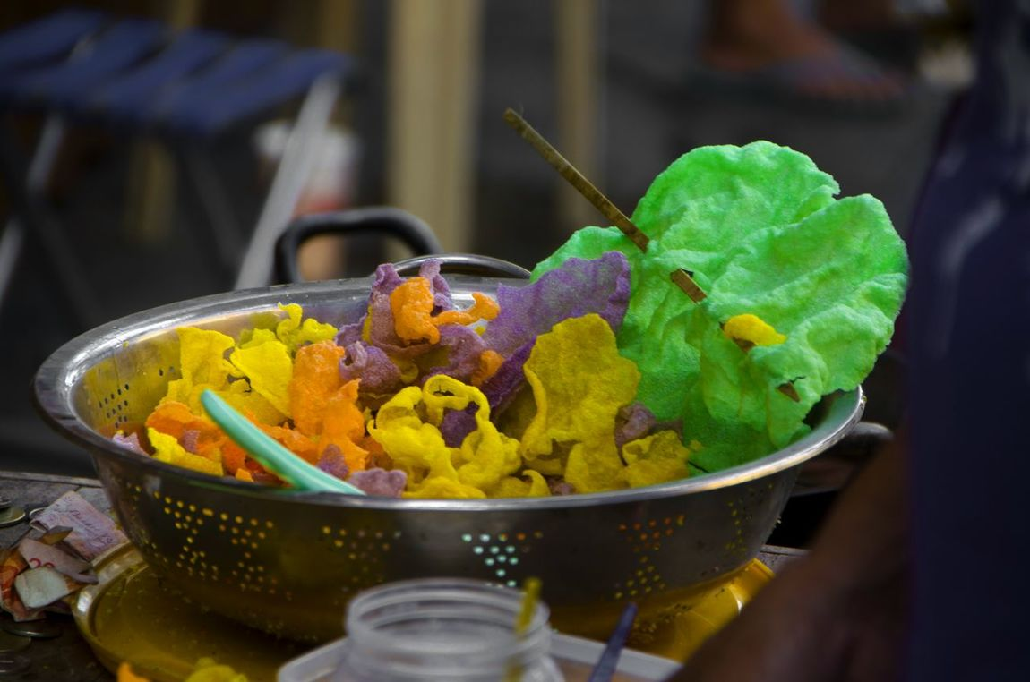 kiping it up! Kiping Lucban Lucban Quezon Multi Colored Pahiyas Street Food Worldwide Travelfood Deepfried Nikon D5100