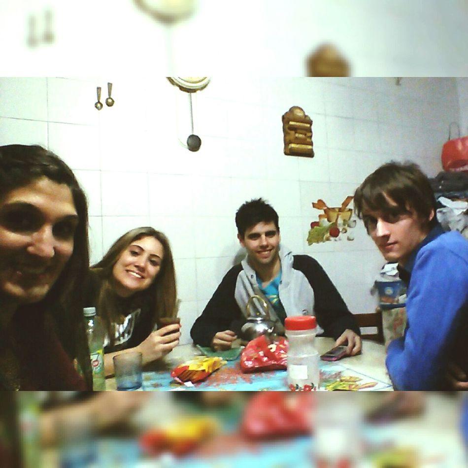 Amigos (L Desayuno Postdunkue