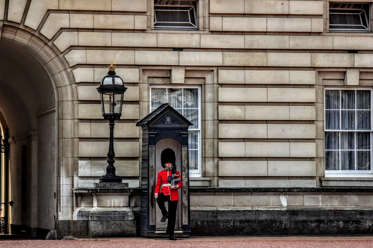 Arch Architecture Buckingham Palace Building Building Exterior Built Structure City City Life Day Full Length Great Britain London Outdoors Photos Of Britain