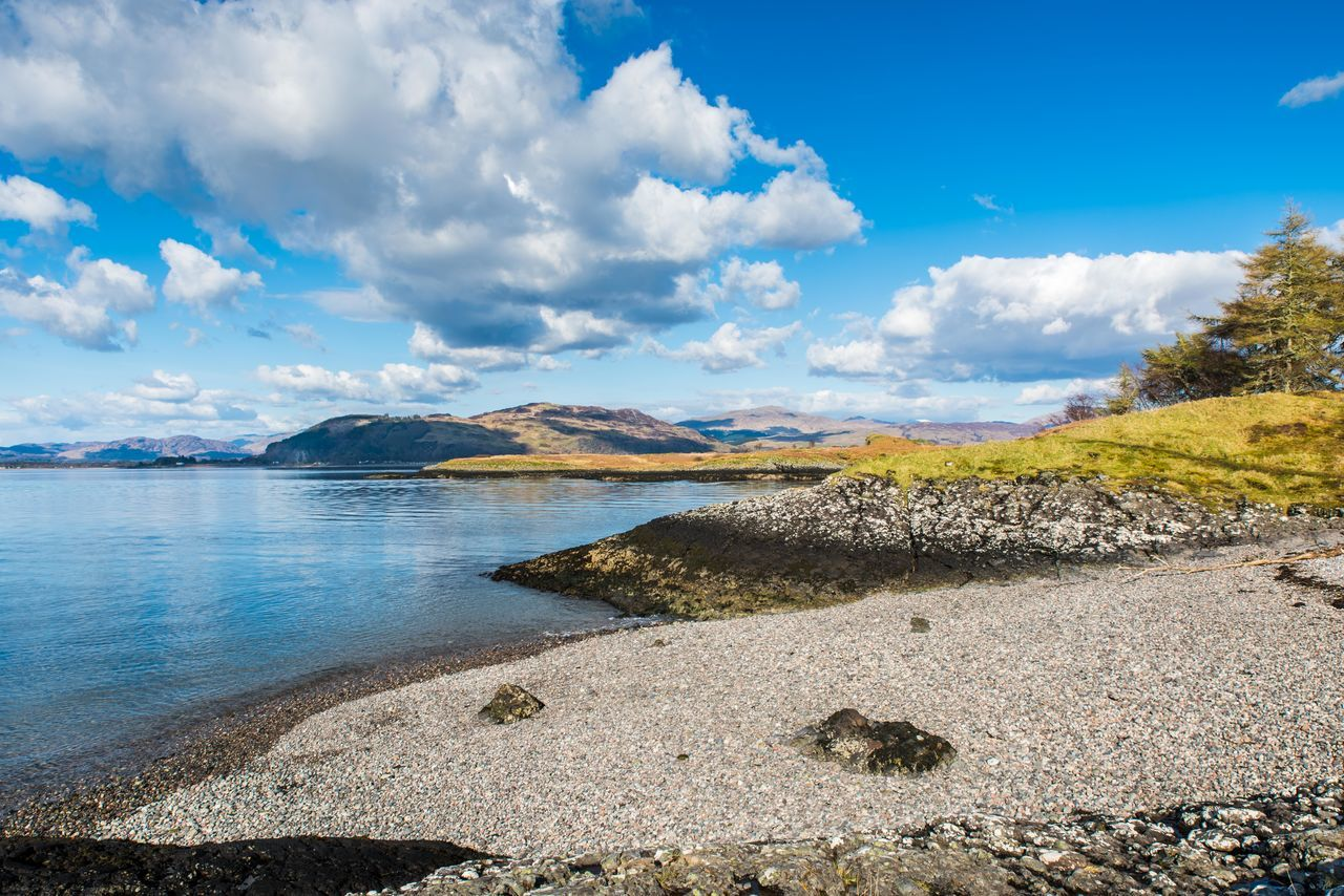Beautiful stock photos of scotland, Beauty In Nature, Blue, Calm, Cloud
