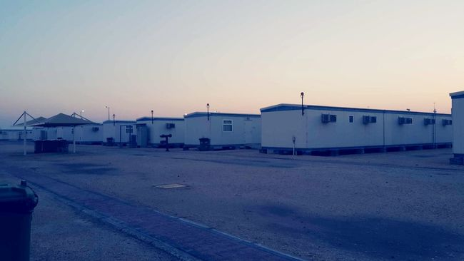 The Camp at Ras Lafan for the next 90days