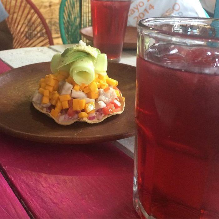 A disfrutar de platillos deliciosos... @sirilo_oaxaca Oaxacking OaxacaDeTodos SafariFotográfico