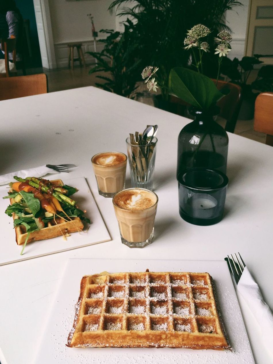 Best waffles in town <3 || Waffle Food Coffee Delicious
