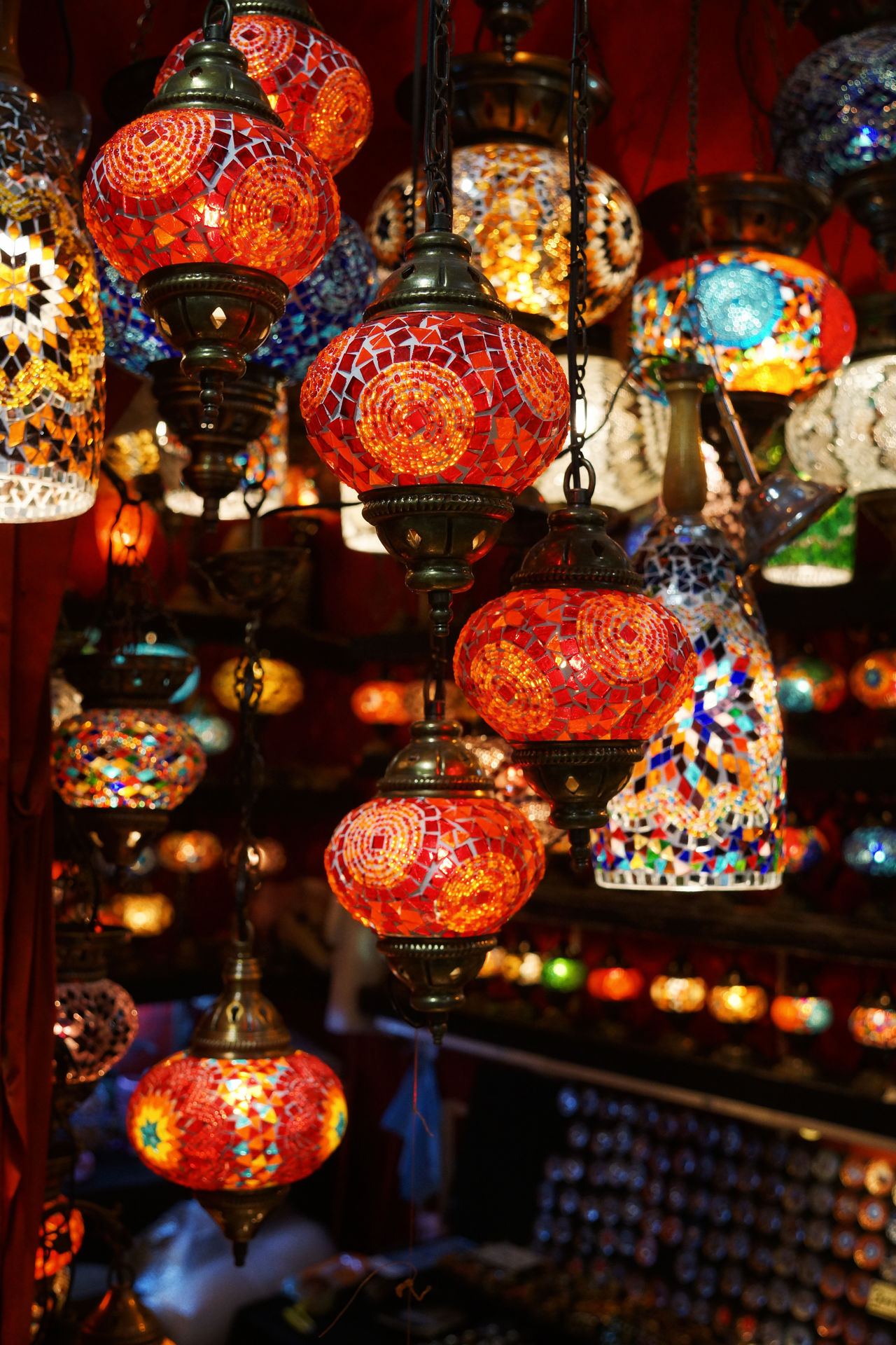 Istanbul Lantern Lanterns Shop Grand Basar Turkish Lamps Turkish Lanterns Lamps Lamp Shops Colourful Colors Colours
