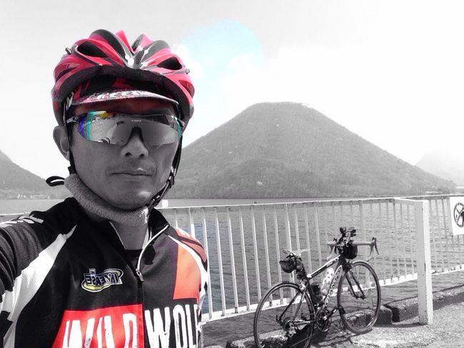 Self Portrait Bicycle Hillclimb Takasaki