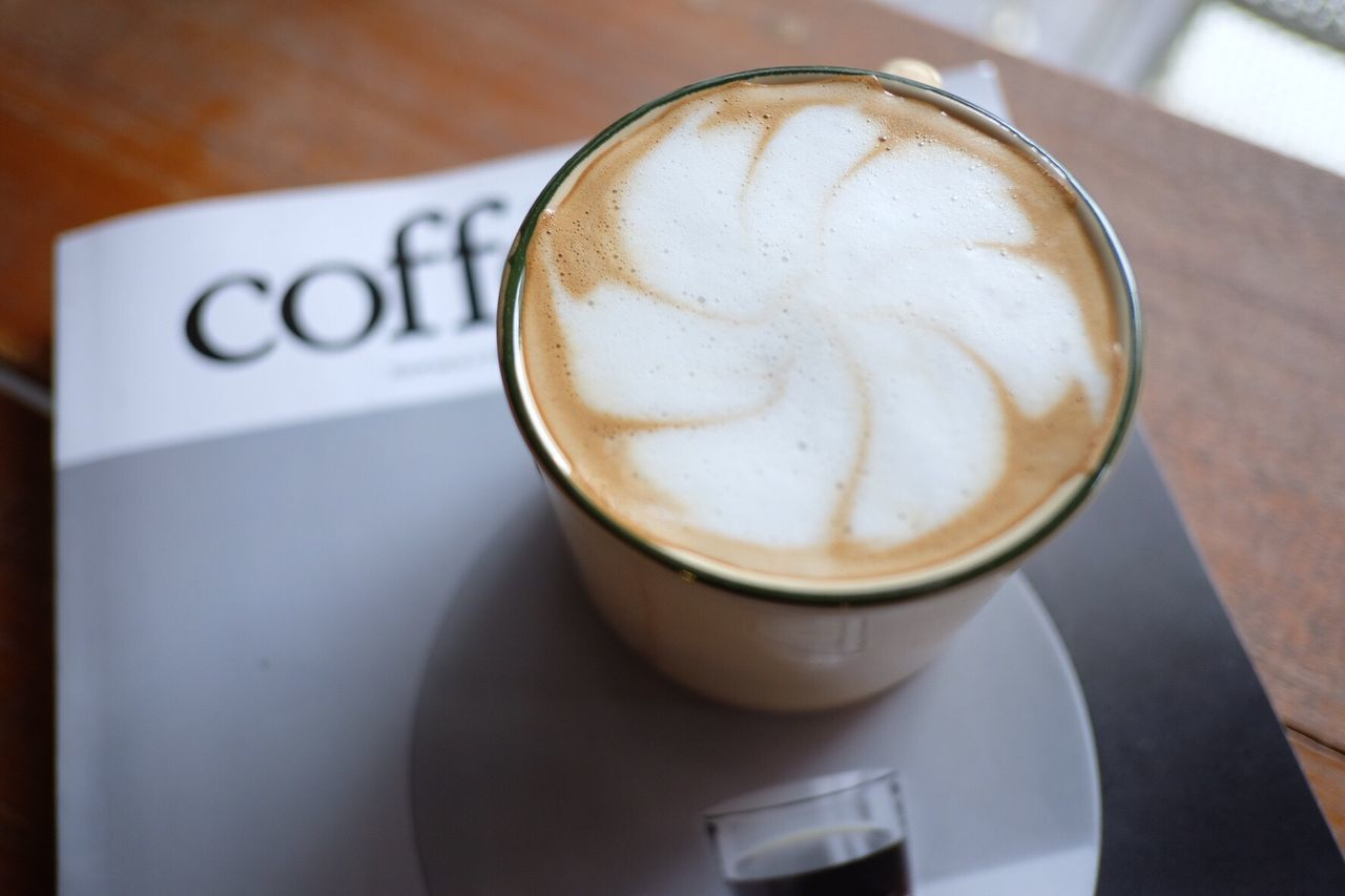 Coffee Cup Coffee - Drink Cappuccino Frothy Drink Food And Drink Drink Table Froth Art Refreshment Close-up Indoors  Freshness Latte No People Froth Day