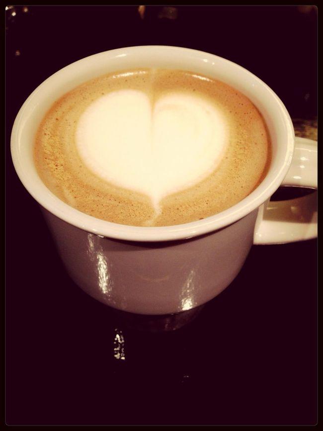 Latte Art My Cafe T-able Sokcho Jangsahang 방콕가기전 마지막..왠지 짠하네..