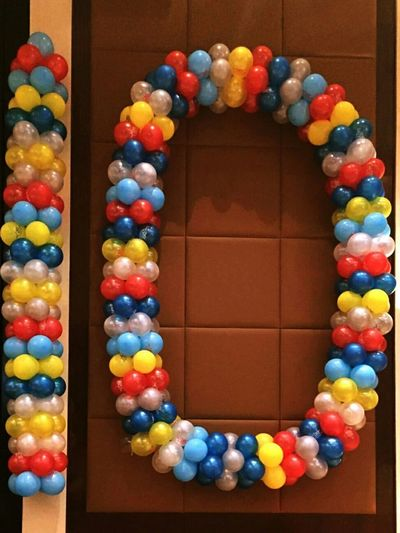 Imperfect 10. Balloons Colors Multicolors  Numbers