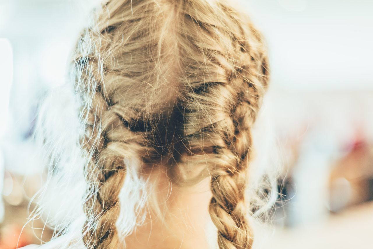 Beautiful stock photos of haare, Blond Hair, Braided Hair, Childhood, Day